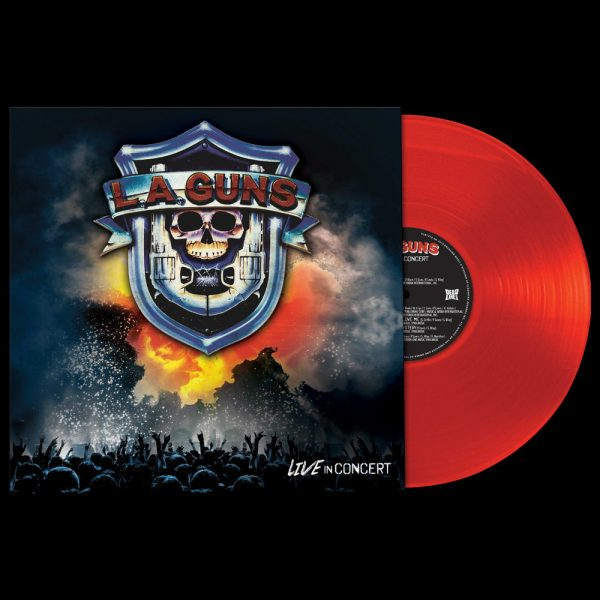 L.A. Guns - Live In Concert (Limited Edition Red Vinyl)