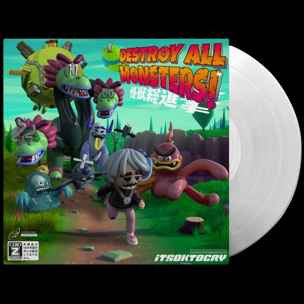 ITSOKTOCRY - Destroy All The Monsters! (Limited Edition Clear Vinyl)