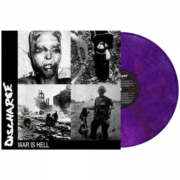 Discharge - War is Hell (Limited Edition Colored Vinyl)