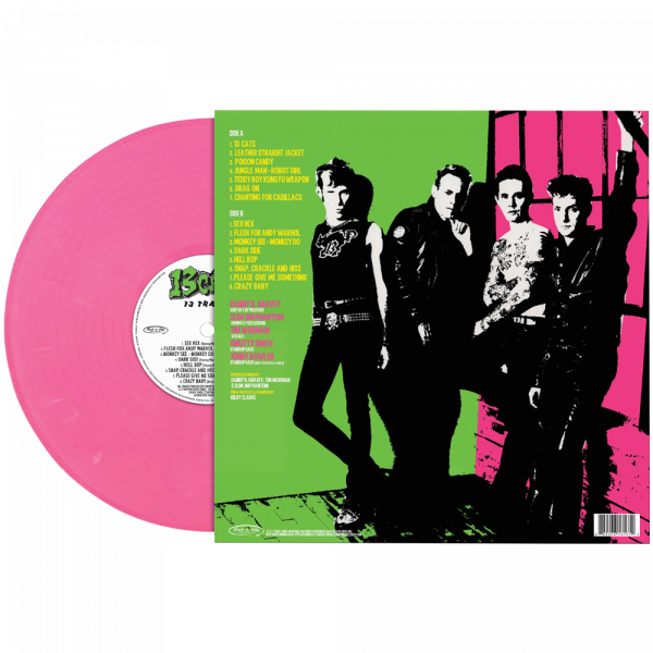 13 Cats - 13 Tracks (Limited Edition Pink Vinyl)