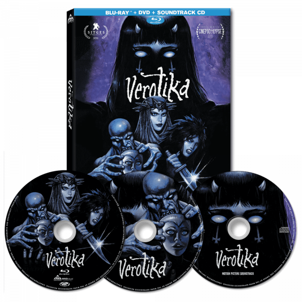 Verotika (Blu-Ray + DVD + CD)