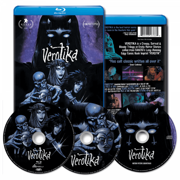 Verotika (Blu-Ray + DVD + CD)