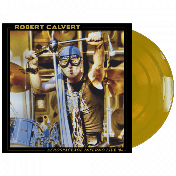 Robert Calvert - Aerospaceage Inferno Live '86 (Limited Edition Colored Vinyl)