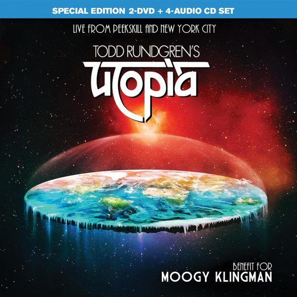 Todd Rundgren's Utopia - Benefit For Moogy Klingman (2DVD + 4CD)