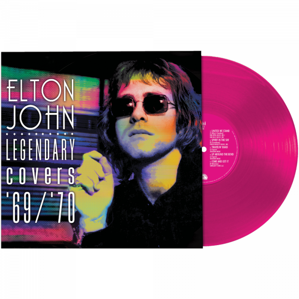 Elton John - Legendary Covers '67/'70 (Limited Edition Pink Vinyl)
