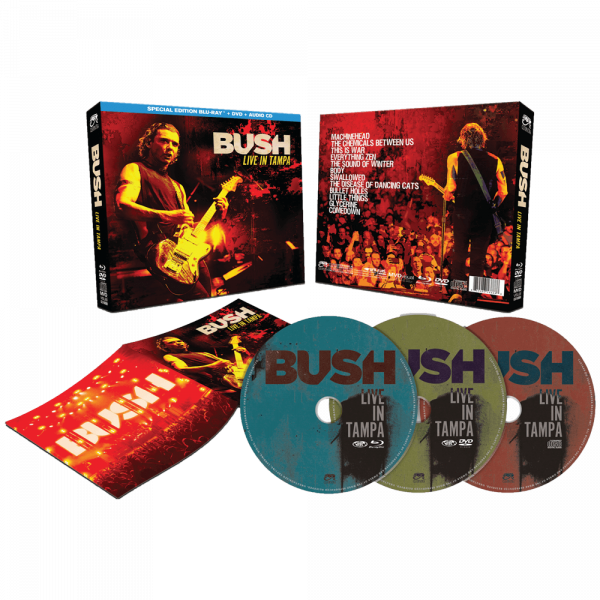 Bush - Live in Tampa