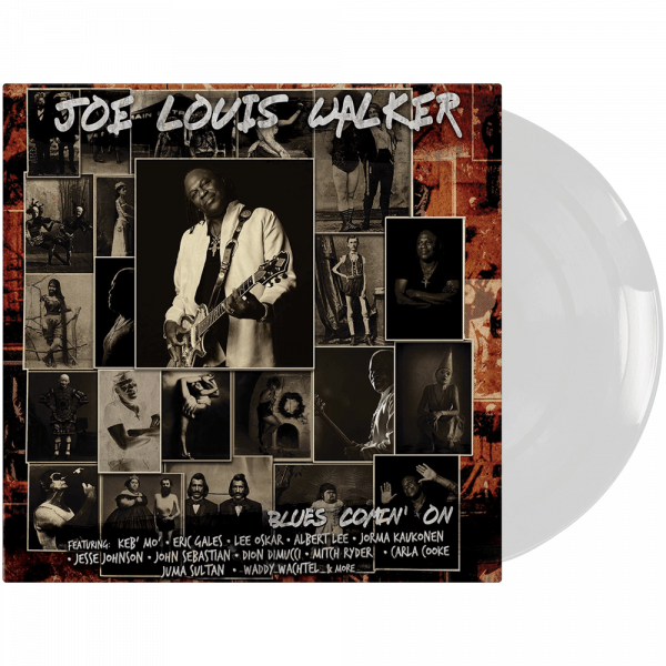 Joe Louis Walker - Blues Comin' On (Limited Edition White Vinyl)