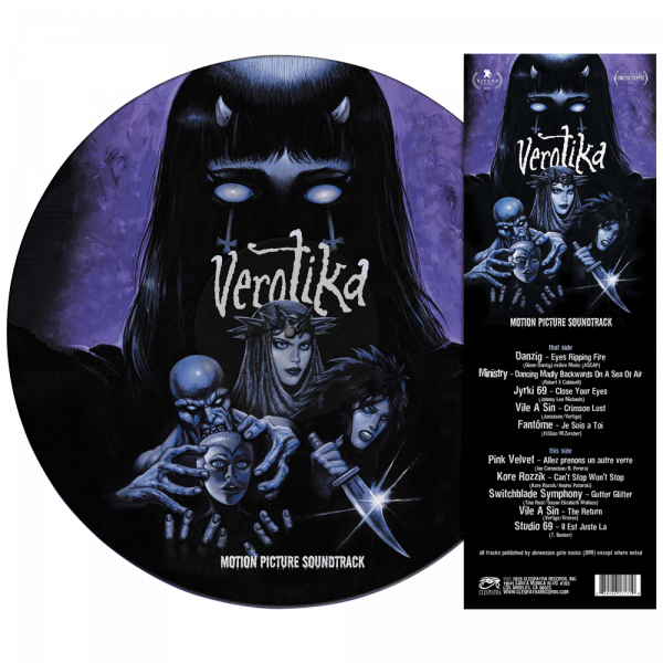 Verotika - Original Motion Picture Soundtrack (Limited Edition Picture Disc Vinyl)