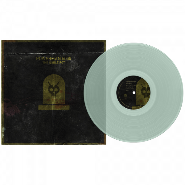 Powerman 5000 - The Noble Rot (Limited Edition Coke Bottle Green Vinyl)