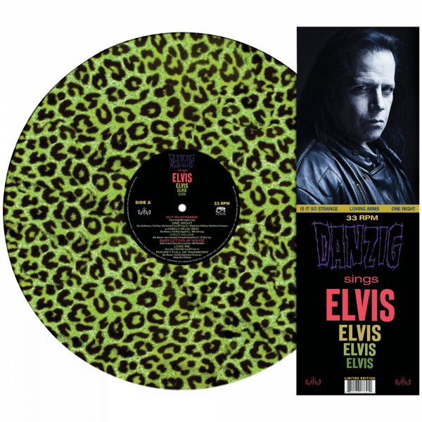 Danzig Sings Elvis (Limited Edition Colored Leopard Vinyl Picture Disc)
