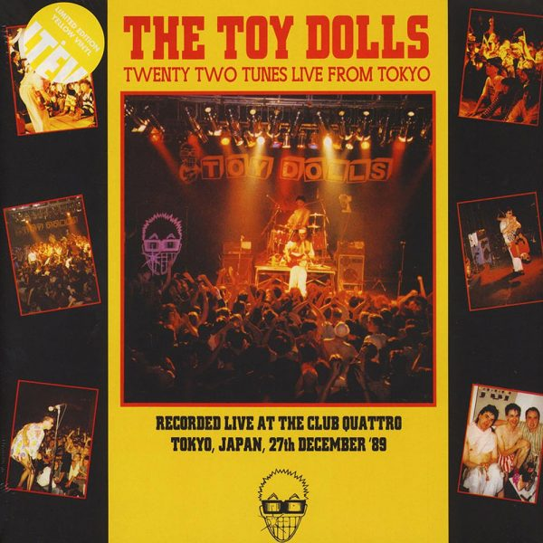 Toy Dolls - Twenty Two Tunes Live from Tokyo (Yellow Vinyl)