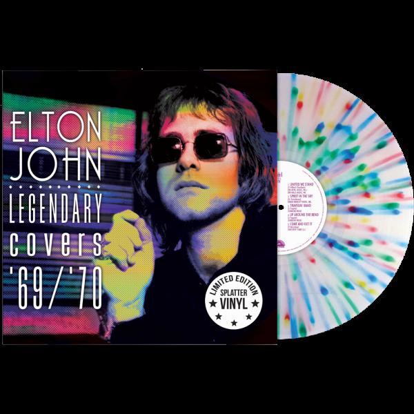 Elton John - Legendary Covers '67/'70 (Limited Edition Splatter Vinyl)