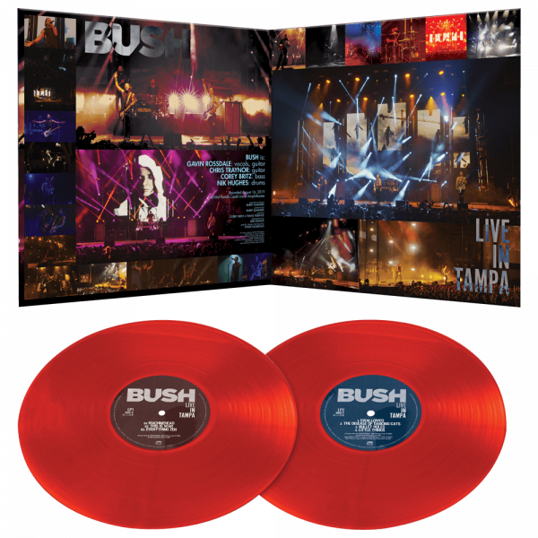 Bush - Live in Tampa (Limited Edition Double Colored Vinyl)