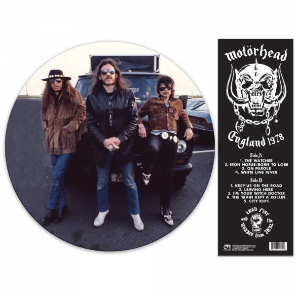 Motörhead - England 1978 (Limited Edition Picture Disc Vinyl)