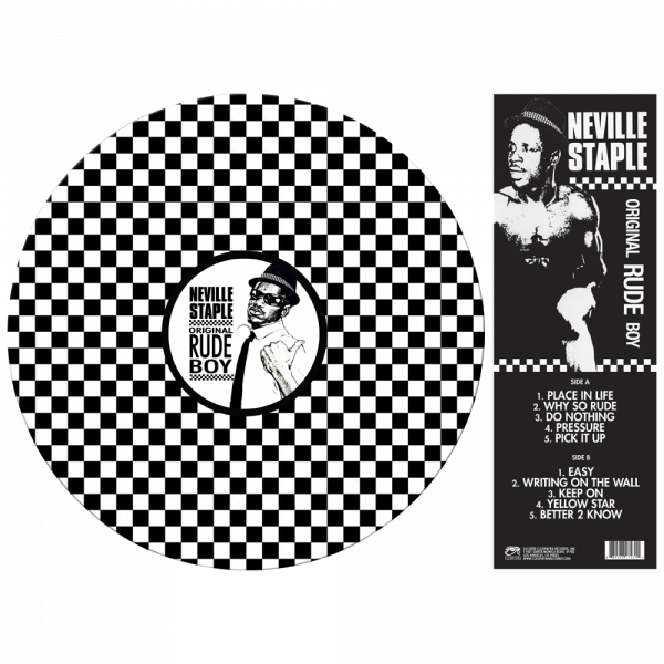 Neville Staple - Original Rude Boy (Limited Edition Picture Disc Vinyl)