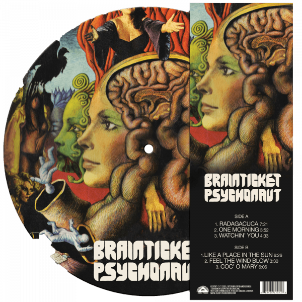Brainticket - Psychonaut (Limited Edition Picture Disc Vinyl)