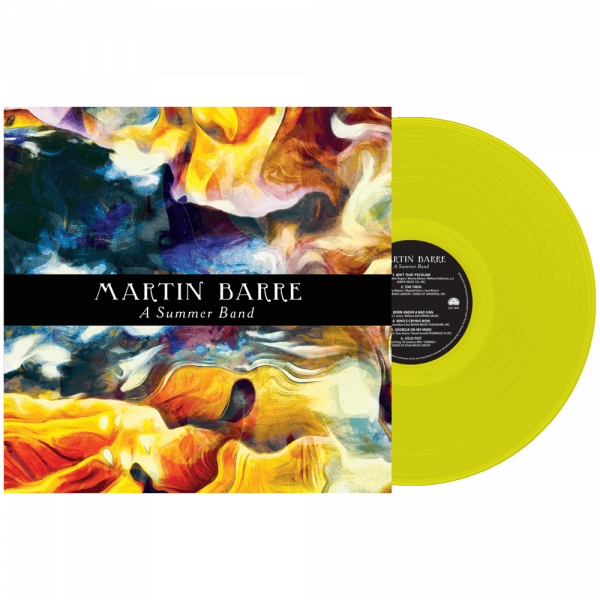 Martin Barre - Summer Band (Limited Edition Yellow Vinyl)
