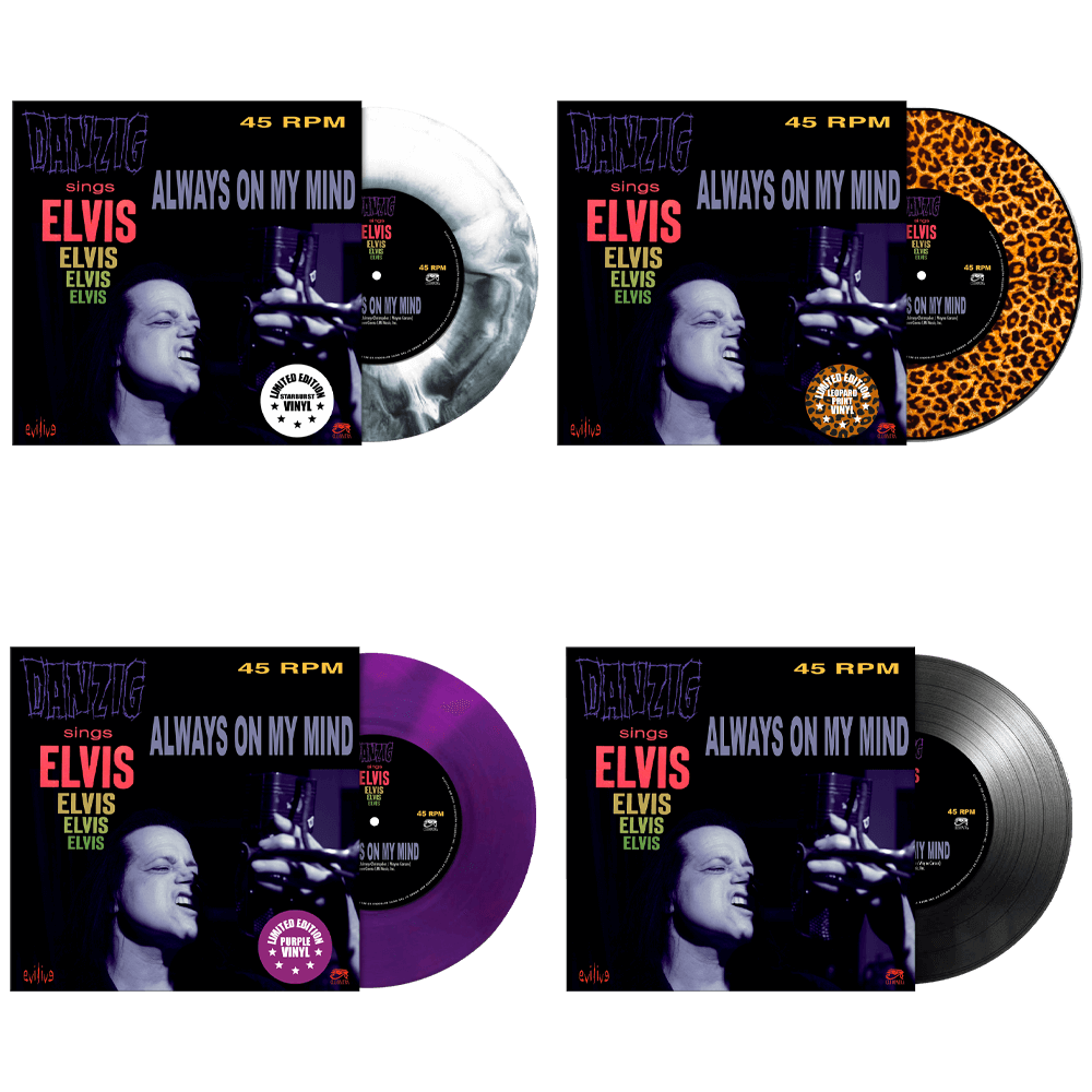 Danzig Sings Elvis - Always On My Mind (Limited Edition Colored 7