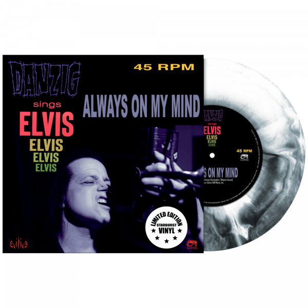 "Danzig Sings Elvis - Always On My Mind (Limited Edition Colored 7"" Vinyl)"