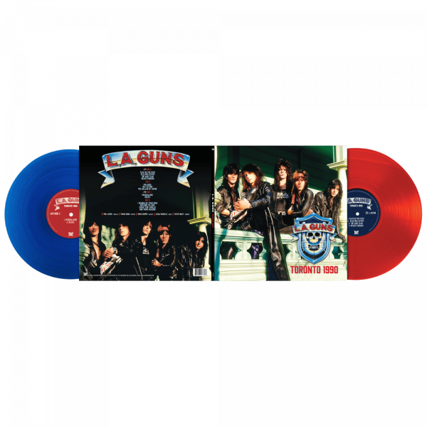 L.A. Guns - Toronto 1990 (Limited Edition Colored Vinyl)