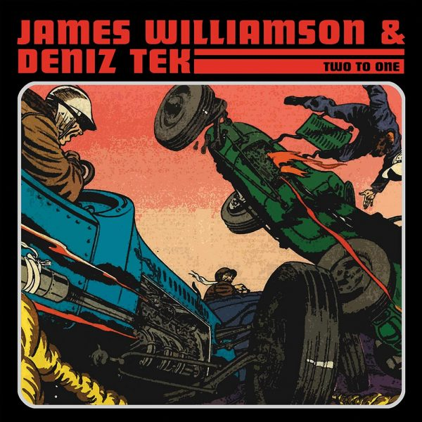 James Williamson & Deniz Tek - Two To One (LP)