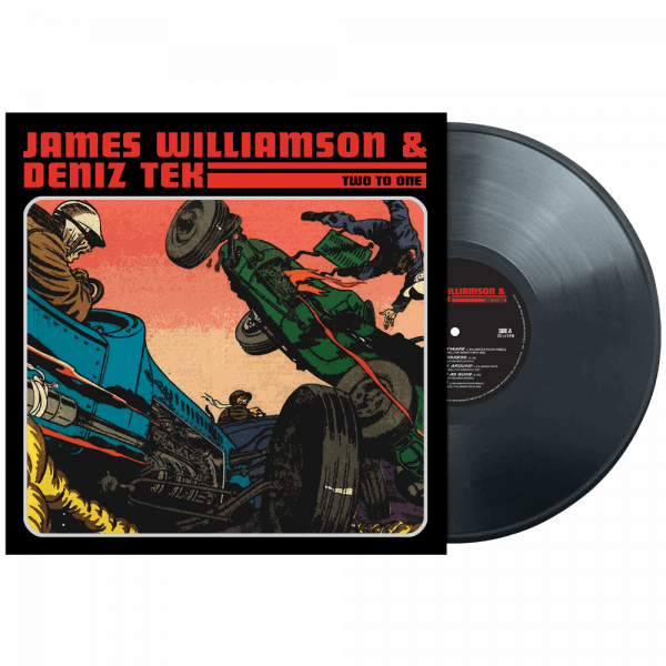 James Williamson & Deniz Tek - Two To One (Limited Edition Colored Vinyl)
