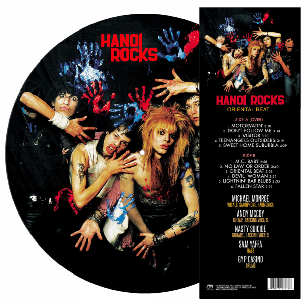 Hanoi Rocks - Oriental Beat (Limited Edition Picture Disc Vinyl)