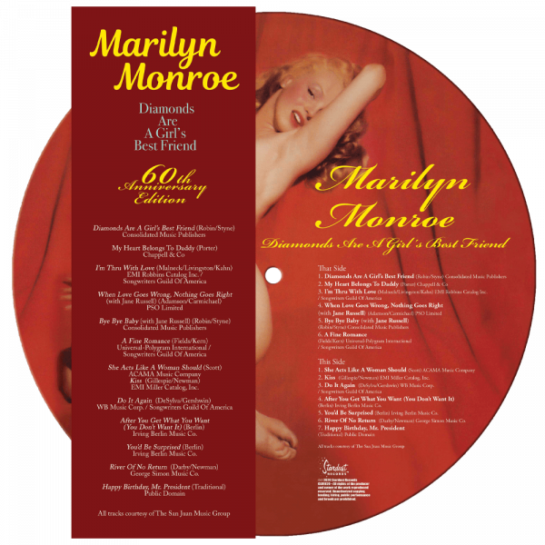 Marilyn Monroe - Diamonds Are A Girl's Best Friend (Picture Disc)