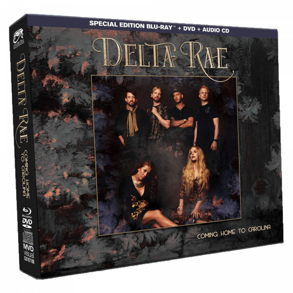 Delta Rae - Coming Home Carolina (Blu-Ray+DVD+CD)