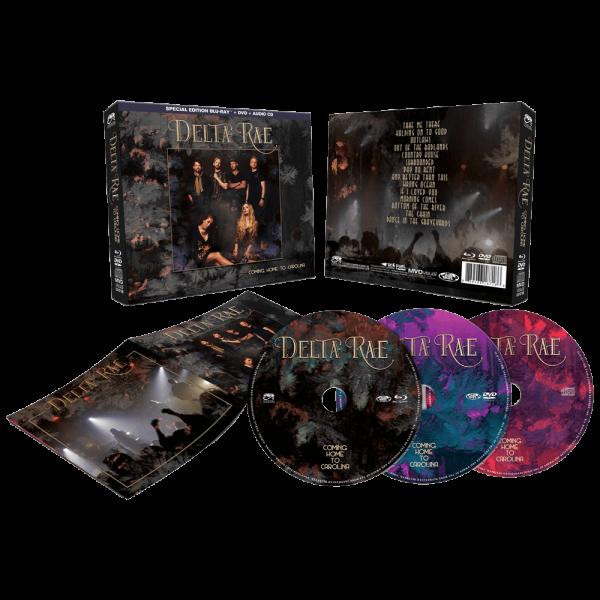 Delta Rae - Coming Home Carolina (Blu-Ray+DVD+CD)
