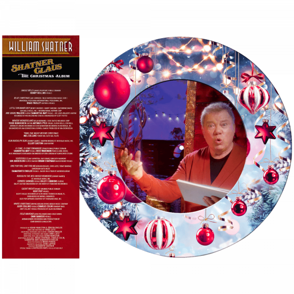 William Shatner - Shatner Claus - The Christmas Album (Limited Edition Picture Disc Vinyl)