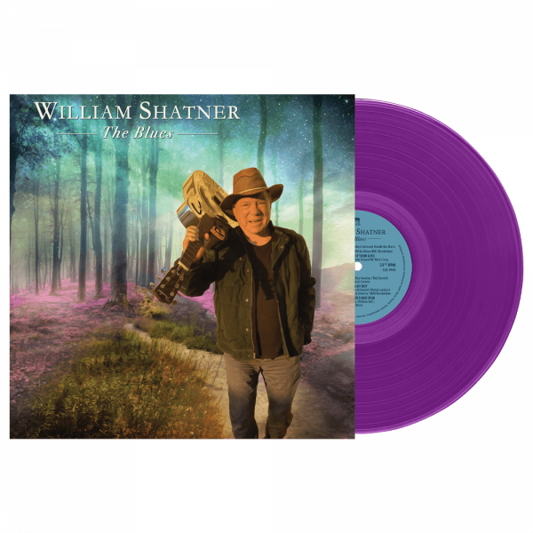 William Shatner - The Blues (Limited Edition Colored Vinyl)