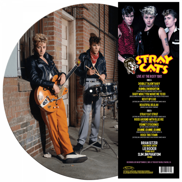 Stray Cats - Live at the Roxy 1981 (Limited Edition Picture Vinyl)