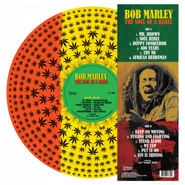 Bob Marley - The Soul of a Rebel (Picture Disc Vinyl)