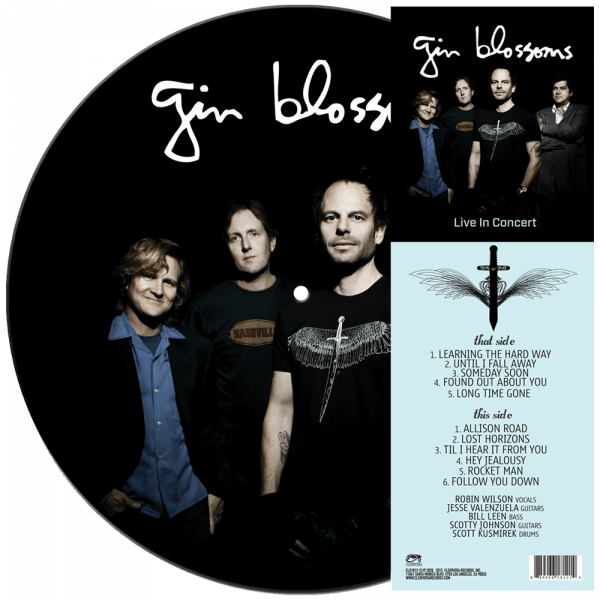 Gin Blossoms - Live In Concert (Limited Edition Picture Vinyl)