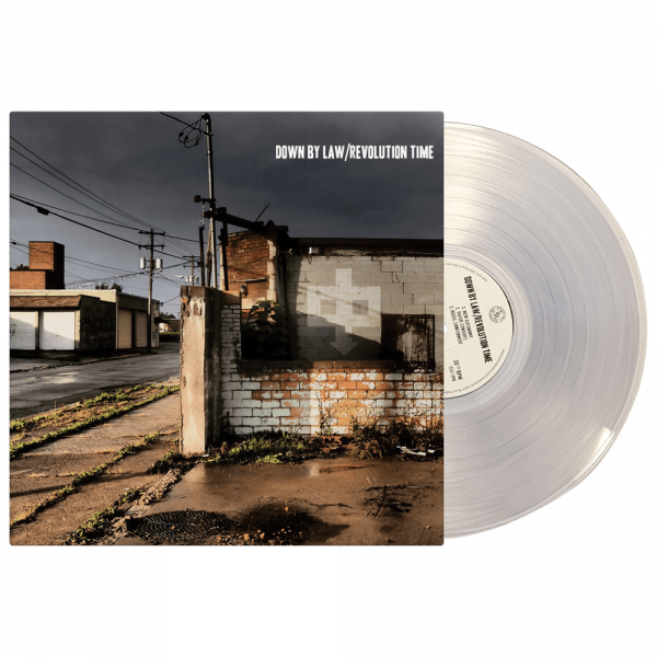 Down By Law - Revolution Time (Limited Edition Clear Vinyl)