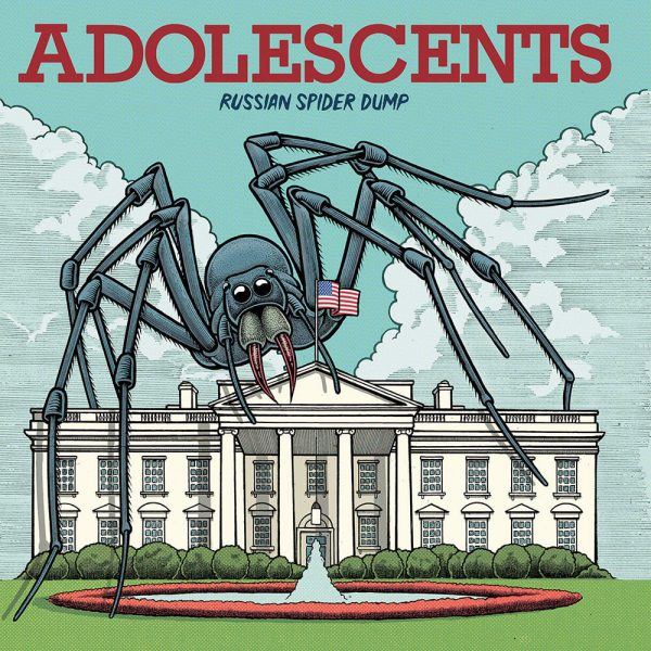 Adolescents - Russian Spider Dump (Limited Edition Green Vinyl)