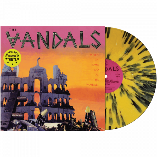 The Vandals - When In Rome Do As The Vandals (Limited Edition Splatter Vinyl)