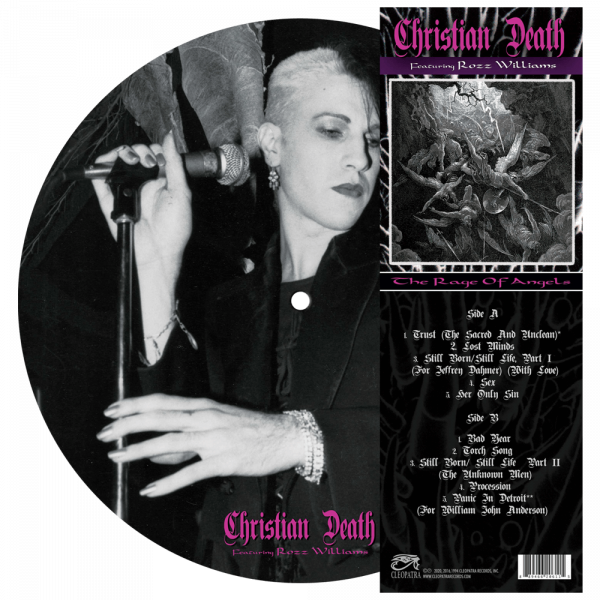 Christian Death - The Rage Of Angels (Picture Disc Vinyl)