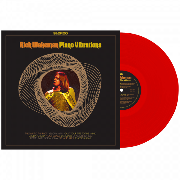 Rick Wakeman - Piano Vibrations (Limited Edition Colored Vinyl)