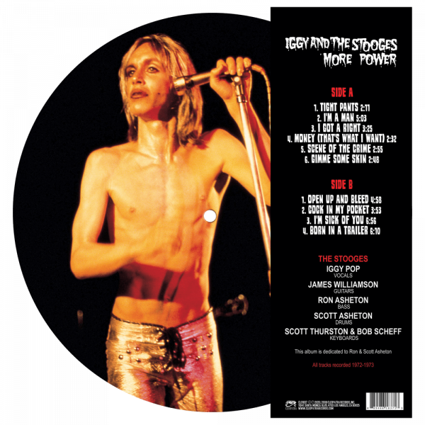 Iggy & The Stooges - More Power (Picture Disc Vinyl)
