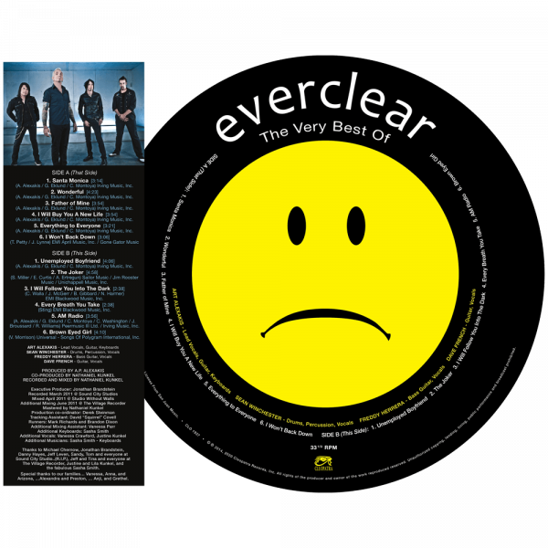 Everclear - The Very Best Of (Picture Disc Vinyl)