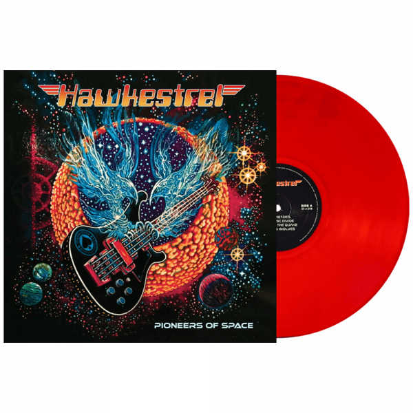 Hawkestrel - Pioneers of Space (Limited Edition Red Vinyl)