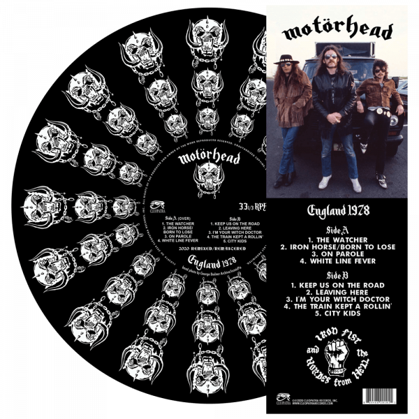 Motorhead - England 1978 (Picture Disc Vinyl)