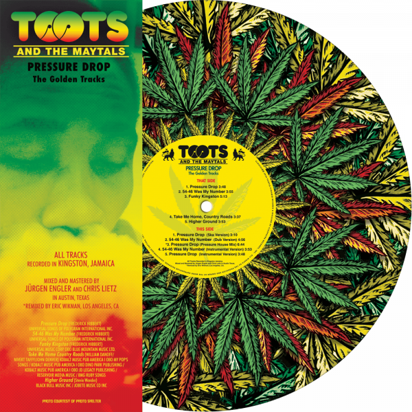 Toots & The Maytals - Pressure Drop - The Gold Tracks (Picture Disc Vinyl)