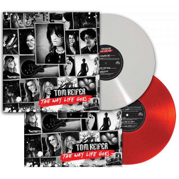 "Tom Keifer - The Way Life Goes ""Deluxe Edition"" (Colored Double Vinyl)"