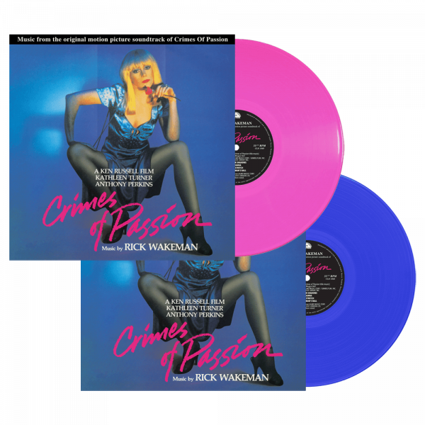 Rick Wakeman - Crimes of Passion - Original Motion Picture Soundtrack (Limited Edition Colored Vinyl)
