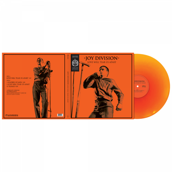 Joy Division - Love Will Tear Us Apart (Halloween Edition Orange Vinyl)