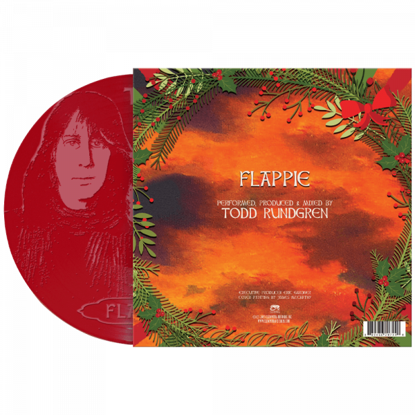 "Todd Rundgren - Flappie (Limited Edition Etched 7"" Colored Vinyl)"