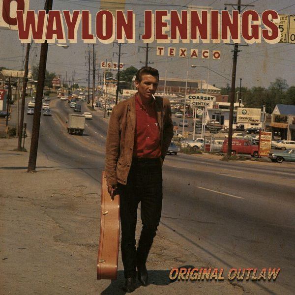 Waylon Jennings - Original Outlaw (Deluxe Tri-Colored RED, WHITE & BLUE Vinyl)